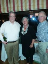 Second place team - Lorcan Sheehan, Ann Flinter and Mick O'Brien