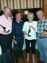Third place team - Sean Tiernan, Michael Matson, Carmel Grimes and Tony Grimes